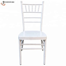 White stackable wedding chiavari chairs for sale