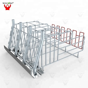 Pig fattening crate stall oem sow gestation bar pens cages factory company for sow