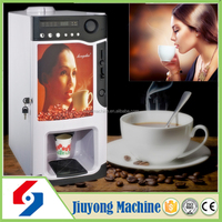 stainless steel coin operated best price high quality commercial electric automatic espresso coffee tea vending machine