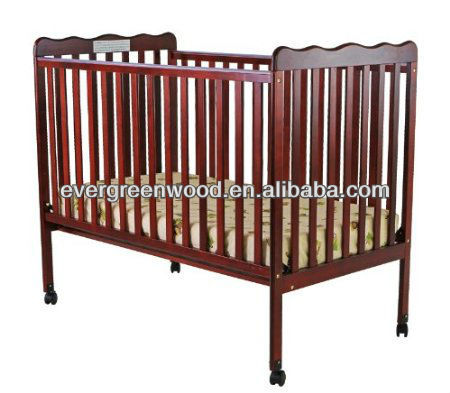 Classic 2 in 1 Convertible Stationary Side Crib
