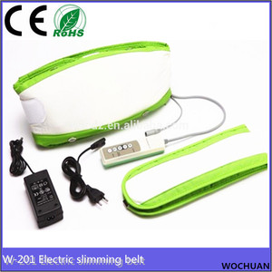effective shaking infrared body slimming infrared wigh loss electric waist massage belt