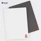 19R009 Recycling soft cover kraft paper blank notebook with no spiral
