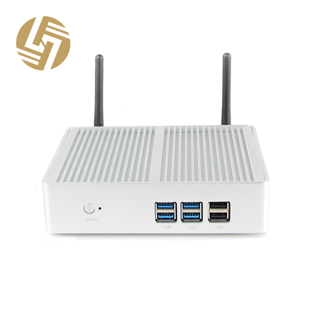 computer fanless tower of network mini pc