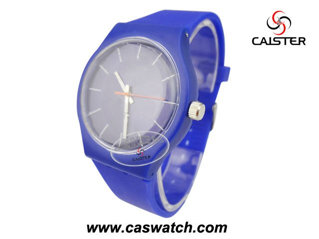 Summer multi color plastic duplicate watches