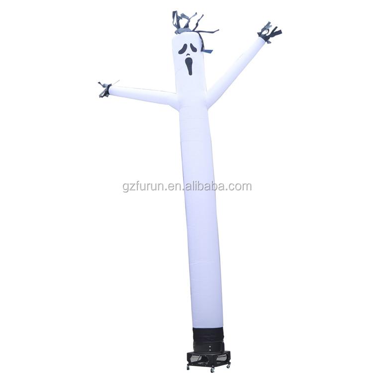 ハロウィンホット販売エアチューブインフレータブルゴーストスカイダンサー
