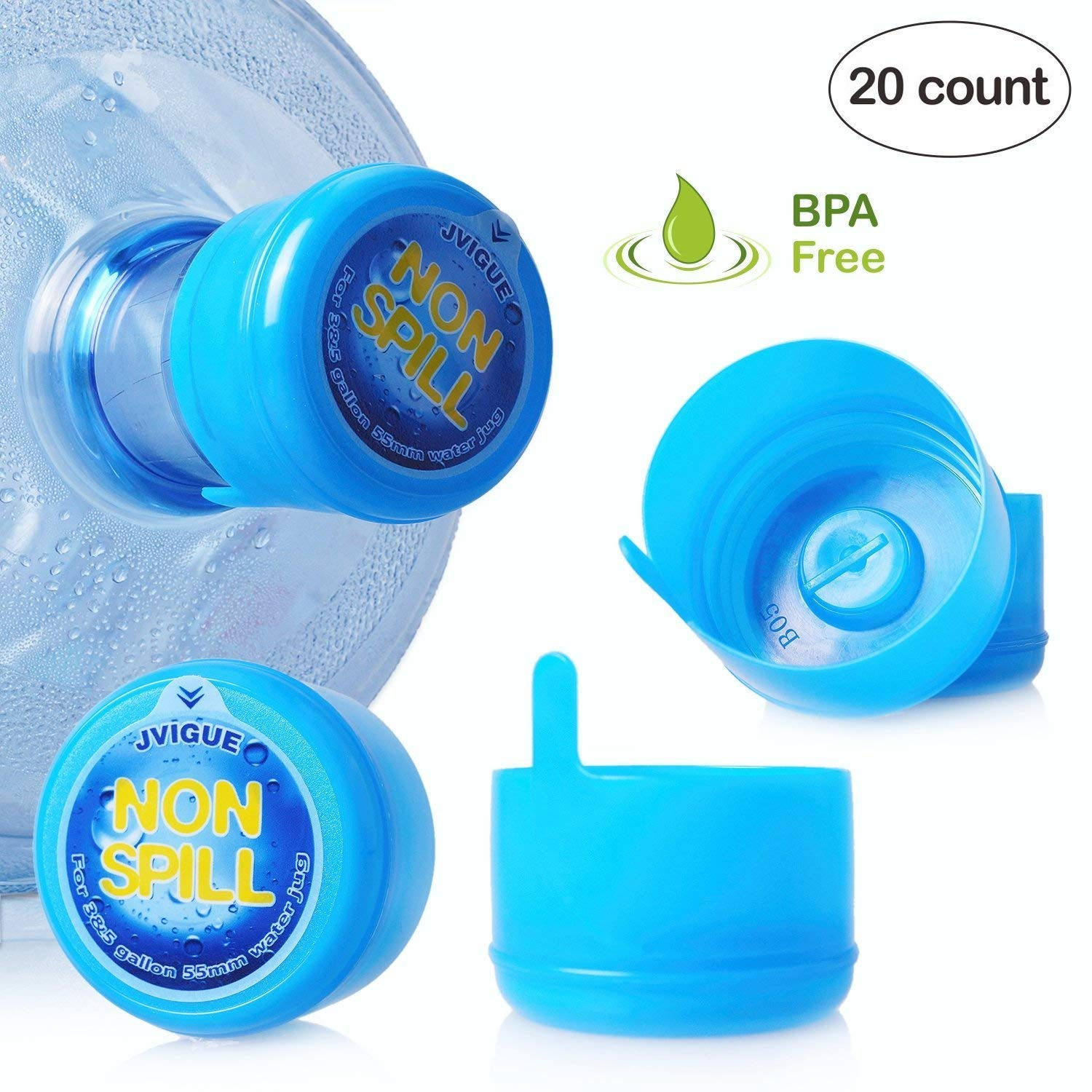 G/&G At Home Freed Cap Disposable Sports Water Bottle Cap for Generic Water Bottles Six Replacement Sports caps