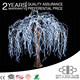 New style 2016 decora wedding white artificial Led Weeping Willow Tree Light