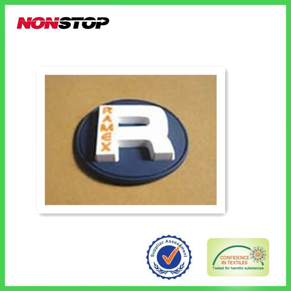 custom made high quality cheap plastic textile accessory labels