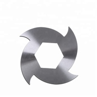 tungsten carbide plastic and rubber shredder blade and knife