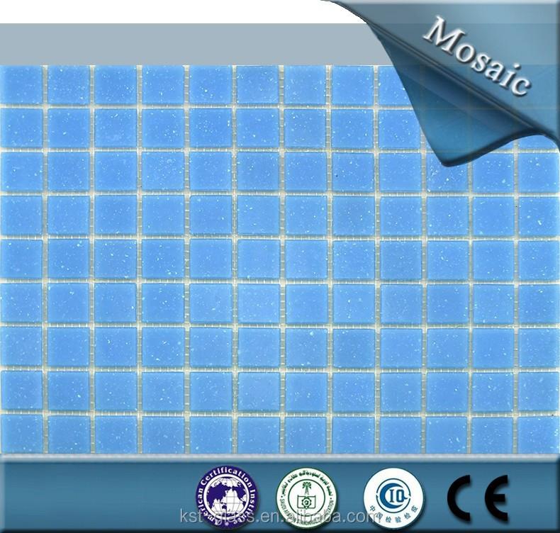 pas cher carrelage salle de bains bleu piscine carreaux de mosaque de verre - Mosaique Salle De Bain Pas Cher
