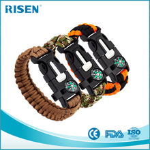 Multifunctional Paracord Bracelet/survival grear/Outdoors Survival kit