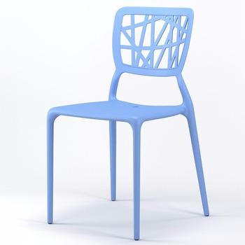home goods blue polypropylene plastic chair buy polypropylene