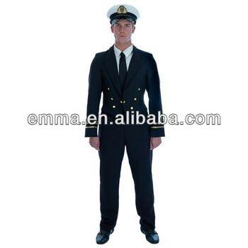 Mens 1940's Ww2 Naval Officer Fancy Dress Costume Airline Pilot  Uniformbm476 - Buy 1940's Ww2 Naval Officer Costume,1940's Costume,Airline  Pilot