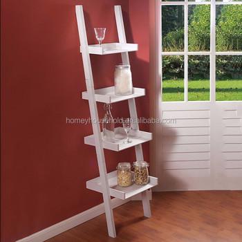 uk availability 9bf68 573cf Distressed Wood Ladder Bookcase Home Furniture Unique Bookshelves Designs -  Buy Unique Bookshelves Designs Product on Alibaba.com