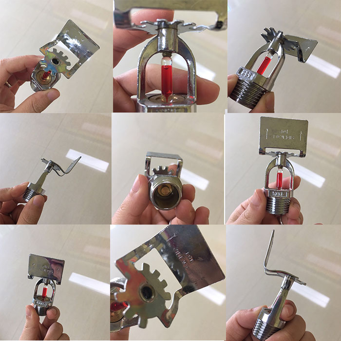 Fire control equipment Stainless Steel Sidewall Sprinkler Heads Automatic Fire Sprinkler