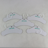 Paper cardboard pet dog clothes hanger with plastic hook
