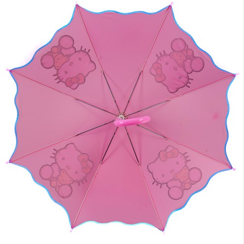 Whole Sale Custom Print Auto Open Cute Umbrella for Kids