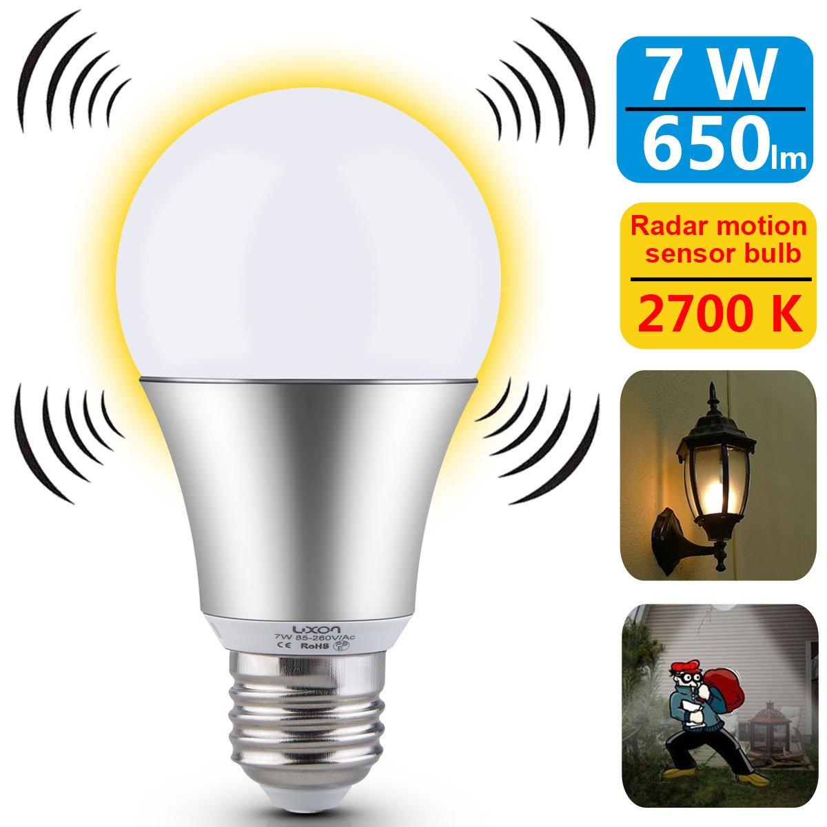 Cheap Motion Sensor Diagram Find Deals On Apc Probe Wiring Luxon Light Bulb 7w Smart Radar Dusk To Dawn Led