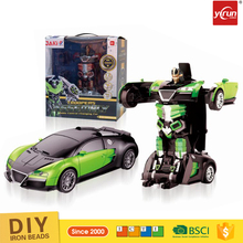 YK034675 toys and hobbies kids 2.4G Deformation rc robot toys