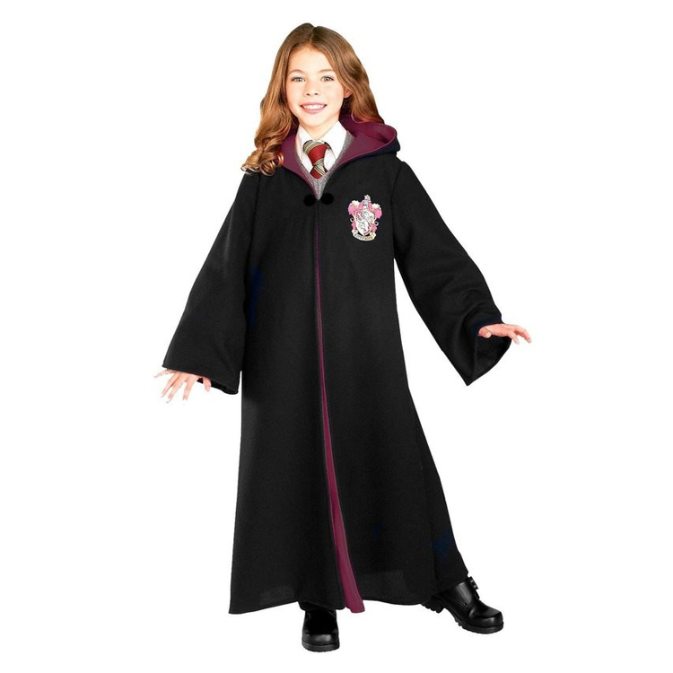 Vente chaude Enfants Fantaisie Robe Halloween Cosplay Costume Filles Harry Potter Manteau Costume