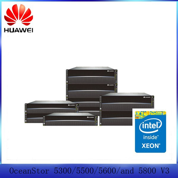 China manufacturer Huawei OceanStor 5300/5500/5600/and 5800 V3 Storage Systems