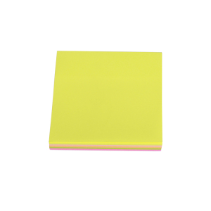 Custom Logo Shaped Mini Colorful Memo Pad Sticky Notes