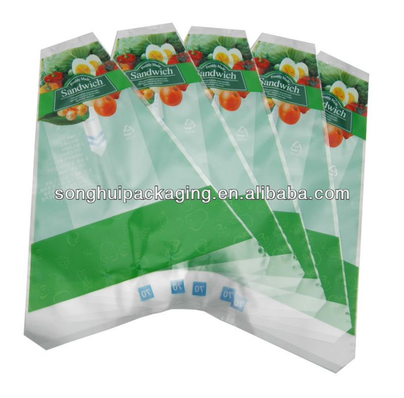 sandwich bag printing / LDPE sandwich bag / bread bag