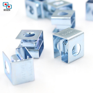 Galvanized floating clip nut cage nuts for rack panel