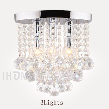 3lights Rain Drop Crystal Chandelier Elegant And Expensive Modern Led Living Room Lighting