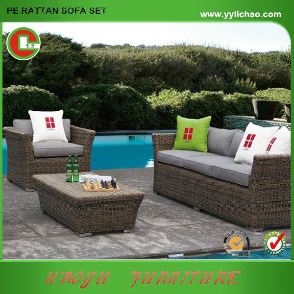 El último diseño de sala de estar Sexo sofá muebles Rattan Chair ...