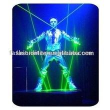 Laser man show system, laser light, stage light