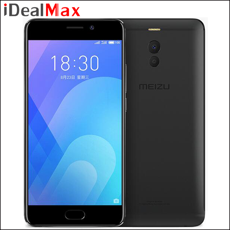 "Original Meizu M6 Note 6 Smart Phone 3GB RAM 16GB ROM Snapdragon 625 Octa Core 5.5"" 1920*1080 Camera 16MP 4000mAh Fast Charge"