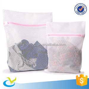 Wholesale pop up and folding mesh laundry bag