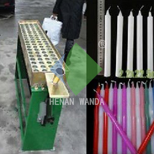 best price manaul Spiral wax candle making machine