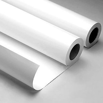 High Gloss Pvc Film Vinyl Sticker Paper Rolls For Solvent Eco - Vinyl decal paper roll