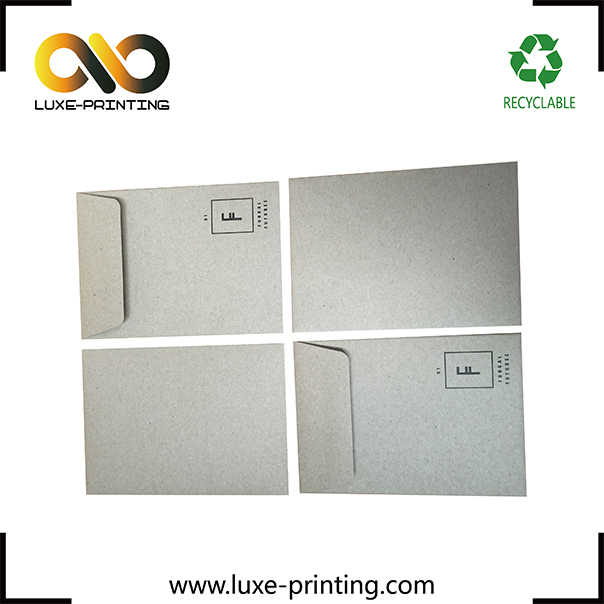 2017 New Products White Art Paper Envelope For Express Company