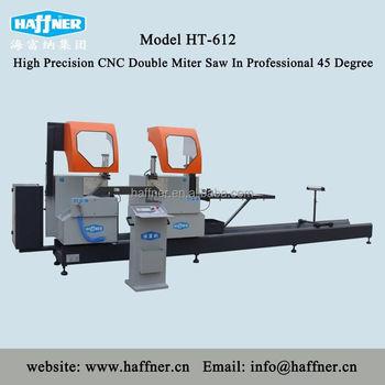 Professional Aluminium Profile Cutting Machine For 45 Degree Miter