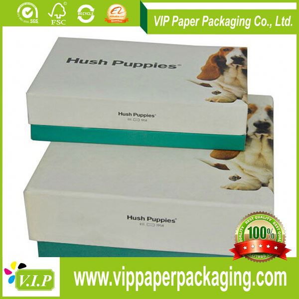 Get Your Own Printing Logo Magnetic Closure Custom Printed Paper Shoe Boxes