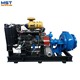 Mini dredge sand and gravel pump for gold mining