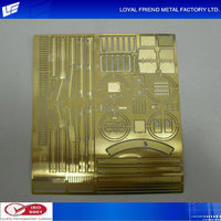 Promotional Gold Electronic Plating Model Train Parts