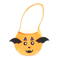 Custom Party Halloween Decoration bags Candy Bucket Bag for Kids