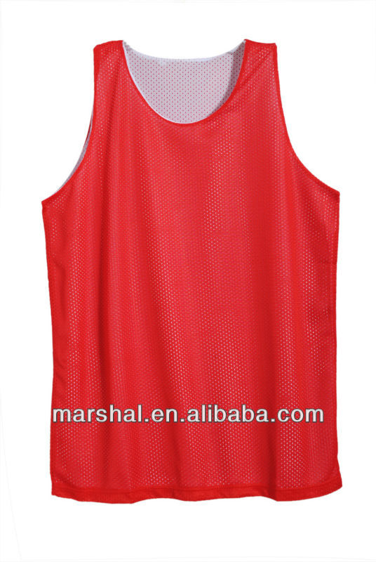 Red Sleeveless Sports Wholesale Tank Top Men