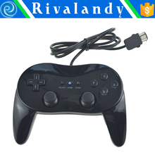 Classic Pro Controller For Wii U & for Original Wii for Wii Pro Controller Gamepad white