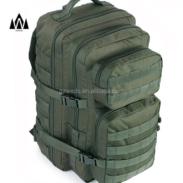 Mochila T/áctica Militar 40L Paquete de 3D Asalto MOLLE de Gran Capacidad Unisex para Utilidad Pesca Negro Caza Senderismo Acampada y Actividad al Aire Libre