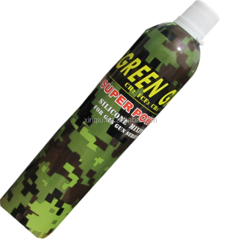 airsoft gas/silicone oil added for optimum performance/prevent rust