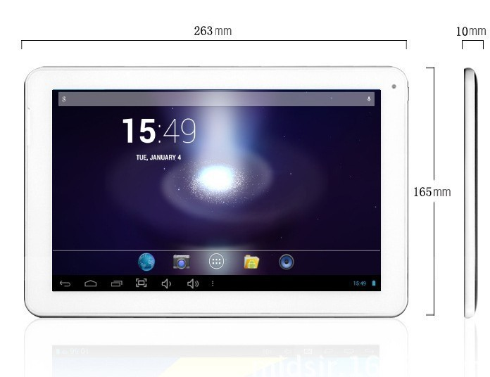 10.1 inch A23 dual core tablet pc