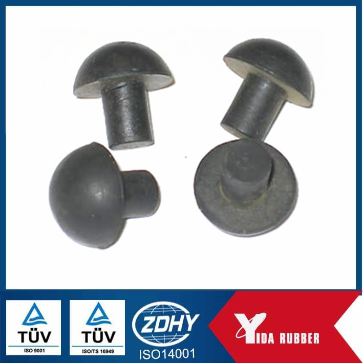 industry hole used black rubber plugs/shaft end small rubber plugs
