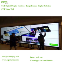CCP Ultra Narrow Bezel 55 Inch Samsung 4k Resolution Lcd Video Wall With 5.3mm