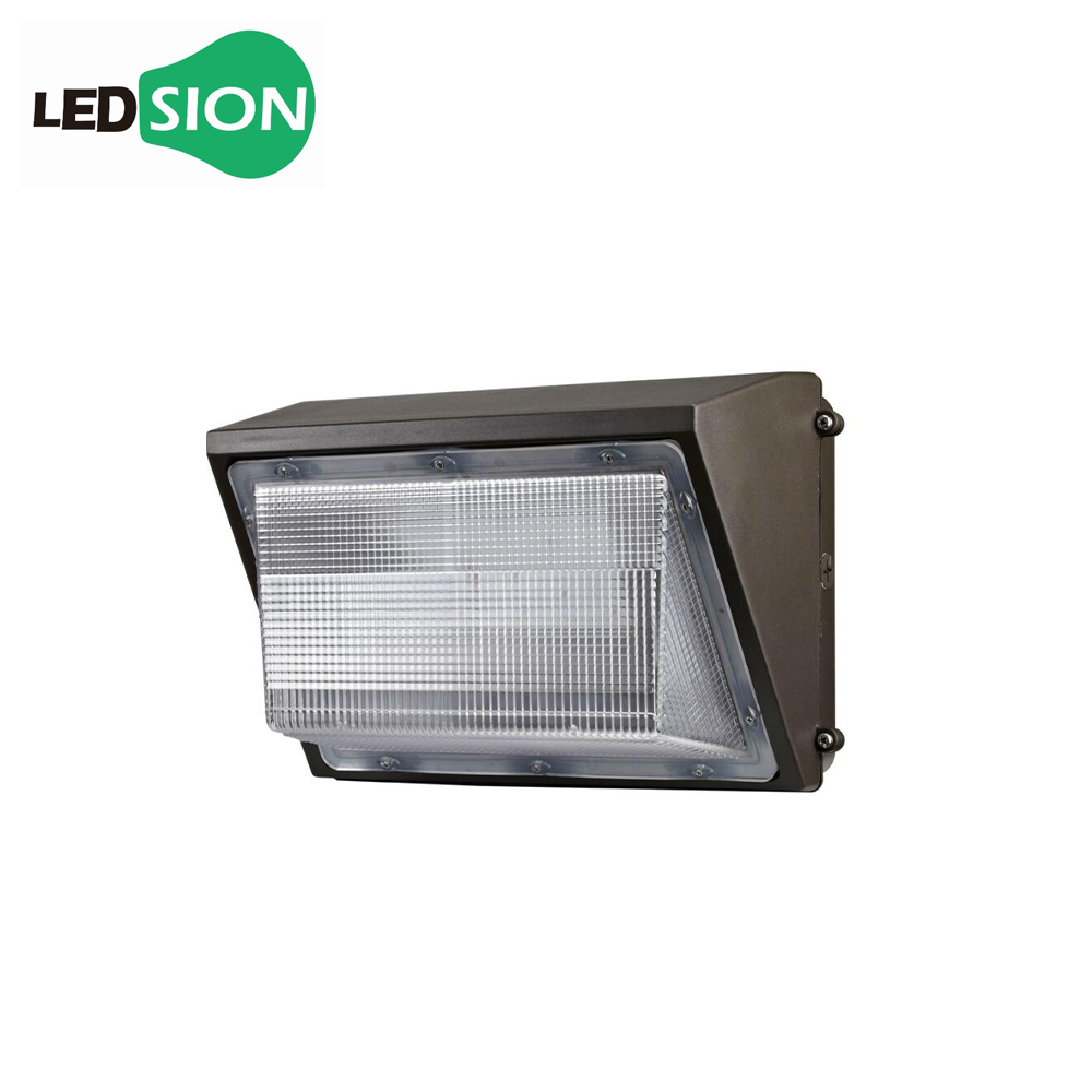 Factory Supply Certificate CE 60W lights with photocell outdoor area flood fixtures max light led wall pack