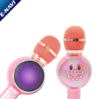 New Arrival Wireless Microphone LED Light KTV Karaoke Bt Wireless Microphone For Kids Teachers